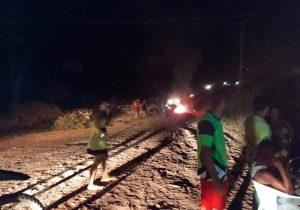 BR-156 Sul: Setrap não tem recursos para asfaltar trecho bloqueado por moradores
