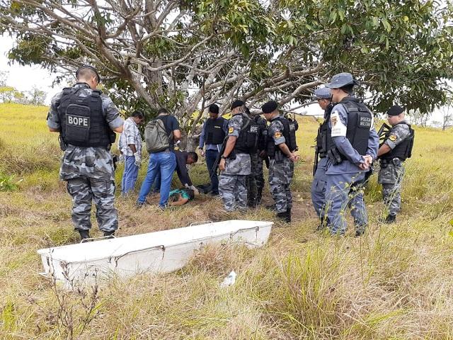Assaltante morre em troca de tiros com o Bope em mata do Curiaú