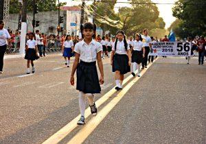Mais de 3 mil estudantes da rede municipal marcham hoje na Avenida FAB
