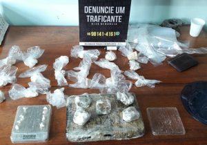 Polícia descobre ponto de armazenamento de drogas em Macapá