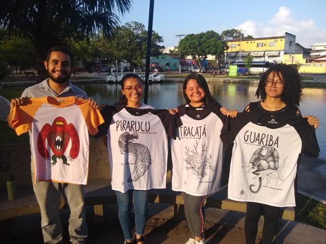 No Amapá, jovens ambientalistas lançam camisas em defesa da Amazônia