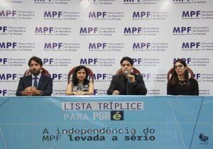 No Amapá, procuradores protestam contra indicação de novo PGR