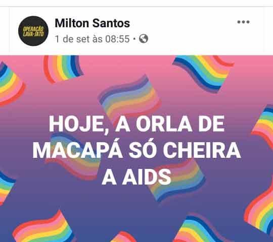 Postagem que relaciona Parada LGBT à Aids será denunciada, avisa coordenador