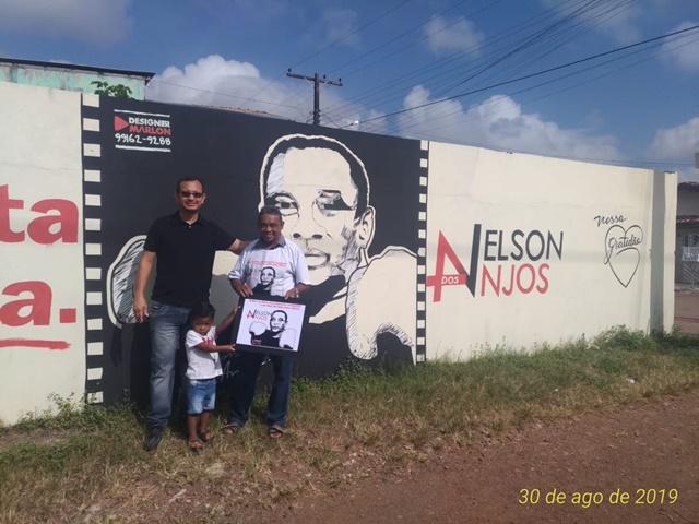 Artista homenageia pugilista amapaense em muro