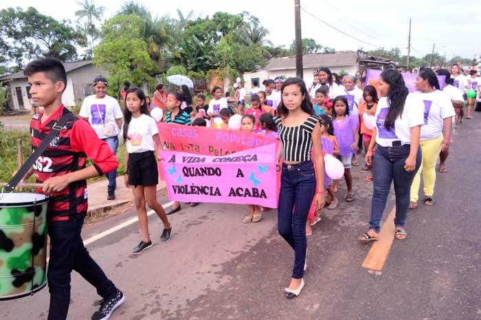 Com 38 casos de violência, mulheres fazem Marcha Contra o Feminicídio