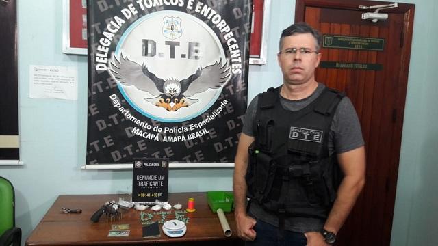 Policiais civis são alvo de traficante durante abordagem