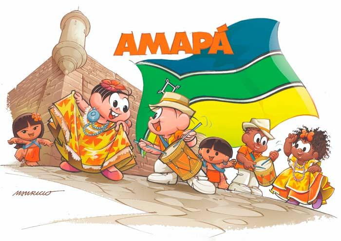 Turma da Mônica dança Marabaixo em homenagem ao Amapá