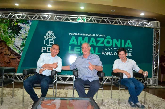 Em evento, Ciro, Waldez e Randolfe anunciam pacto político pela Amazônia