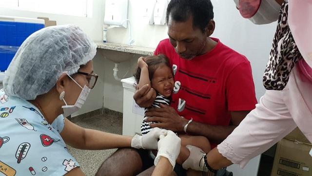 Poucos pais levam os filhos aos postos no Dia D contra o sarampo