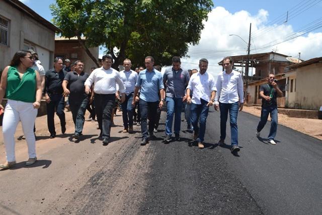 Davi, Waldez e Clécio lançam convênios de R$ 30 milhões para asfaltar vias de Macapá