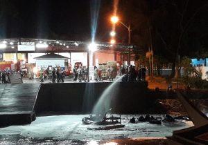 Explosão de barco deixa um morto no Igarapé da Fortaleza
