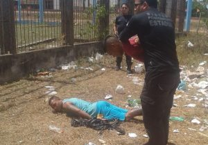 Detento tenta fugir da cadeia dentro de tambor de lixo
