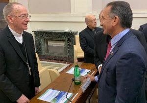 Governantes querem Papa Francisco como aliado no desenvolvimento da Amazônia