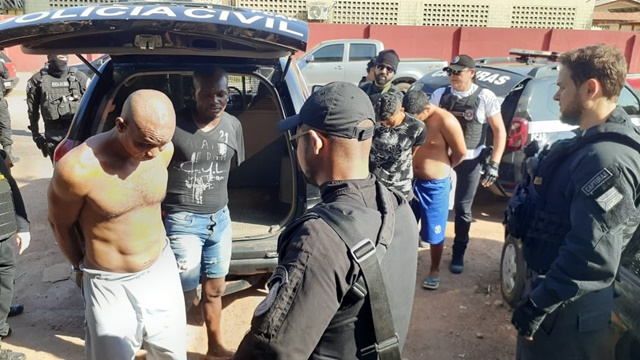 Acusados de violência doméstica e roubo são presos em operação