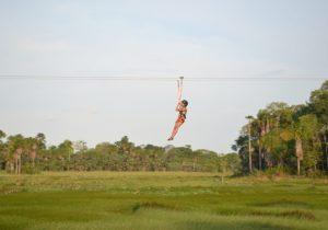 Conheça a tirolesa do Bioparque: aventura em visão panorâmica