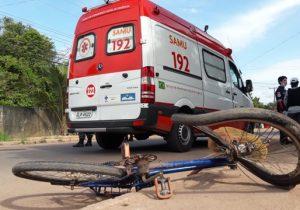 Ciclista morre após ser atingido por motocicleta no Marabaixo 2