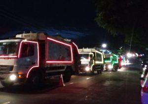 Festa de Ano Novo: coleta de lixo será intensa até 1º de janeiro