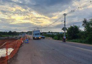 Trânsito na Lagoa dos Índios será interditado