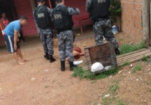 Confronto deixa policial ferido e criminoso morto em Macapá