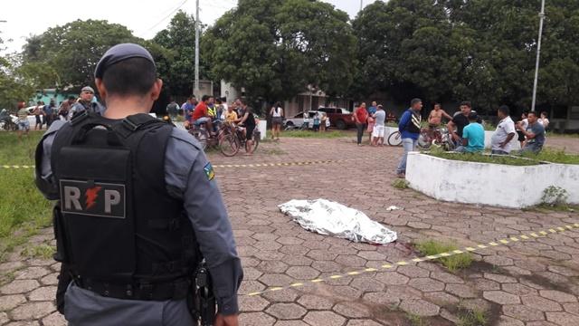 Alvo de facção no Pará é morto em praça do Hospital de Santana