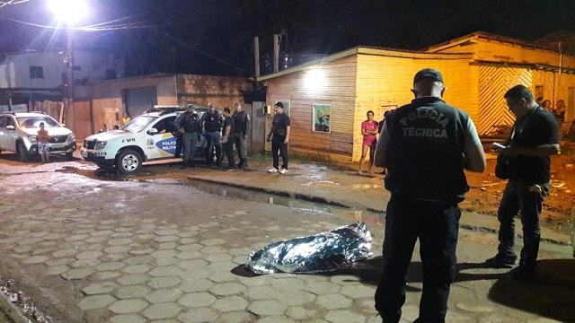 Detento em regime domiciliar é morto a tiros