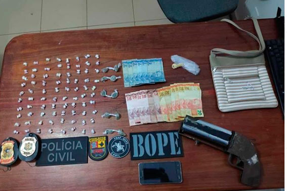 Arma com 4 canos é apreendida pela PM do Amapá
