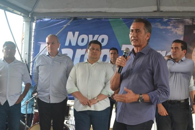 Waldez e Davi anunciam R$ 7 milhões para Complexo Turístico do Marco Zero