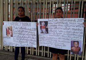 Família de bebê assassinada protesta por condenação máxima