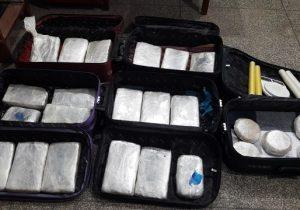 Polícia apreende 26 kg de cocaína e maconha; droga entrou pelo aeroporto