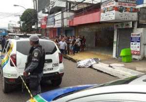 Cambista é morto com 4 tiros no Centro de Macapá