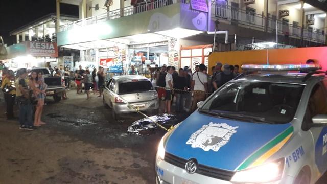Funcionário de mercantil é morto a tiros quando carregava compra