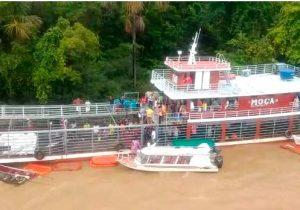 Naufrágio: MPF apura descumprimento de normas em embarcação