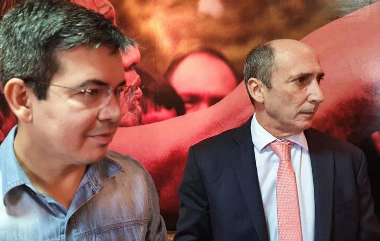 Rubem e Randolfe preparam anúncio de estratégia eleitoral