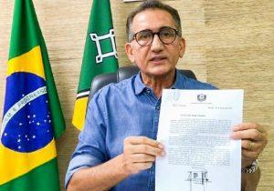 Waldez pede a Bolsonaro para fechar fronteira com a Guiana Francesa