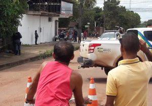 Após assaltar padaria, assaltante entra em confronto com a PM