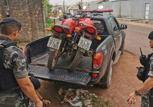 Bope descobre 'esconderijo' de motos roubadas