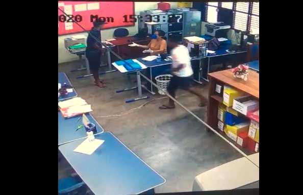 Jovem já tinha assaltado escola outras vezes, diz PM