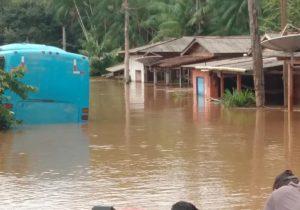 Prefeitura conta desabrigados por enchente no Sul do Amapá