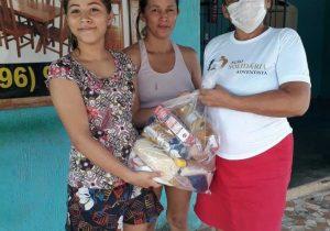 Mais de 1 mil famílias recebem cestas em mobilização de adventistas do Amapá