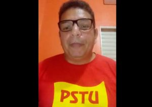 Pré-candidato do PSTU, Gianfranco pede que amapaense evite sair de casa
