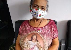 Live de leilão solidário busca ajudar idosa com câncer