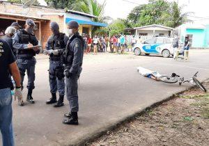Filho de policial é morto a tiros