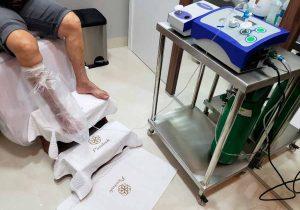 Em Macapá, clínica usa ozônio em pacientes com doenças crônicas e agudas