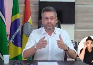 """Prefeito de Macapá faz apelo: """"precisamos de médicos""""; VÍDEO"""