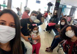 Estudantes de medicina impedidos de sair da Bolívia voltam ao Amapá
