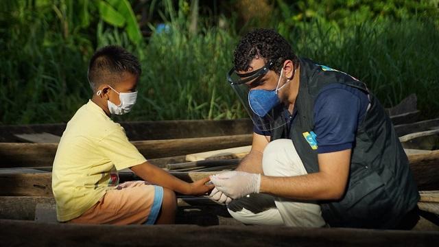 Exames para covid-19 iniciam em aldeias do Amapá