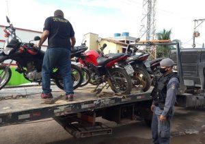 Rastreador leva PM a esconderijo de motos roubadas