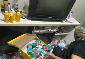 Após interceptar encomenda nos Correios, PF acha laboratório de drogas sintéticas