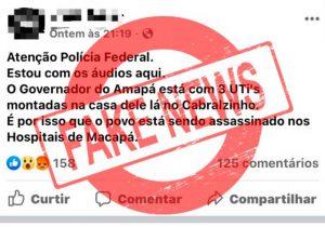 Fake news: Polícia Civil indicia 5 internautas no Amapá