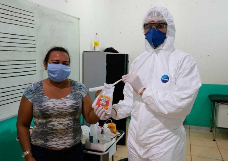 Em Pedra Branca, testagem e distribuição de medicamentos aceleram recuperação
